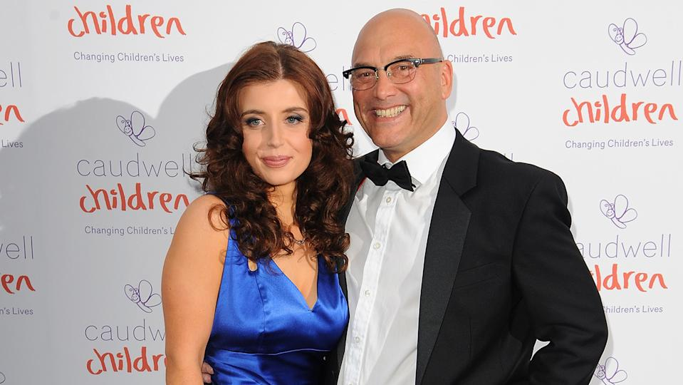 Gregg Wallace, seen here with his fourth wife Anna, says love is a game of chance (Image: Getty Images)