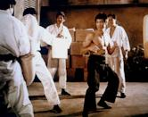<p>After years of choreographing martial arts stunts on films throughout the '60s, 1972's <em>Way of the Dragon</em> marked Bruce Lee's directorial debut. </p>