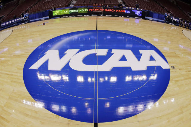 College basketball hangs nervously in the balance as the sport's seedy underbelly is exposed in federal court. (AP)