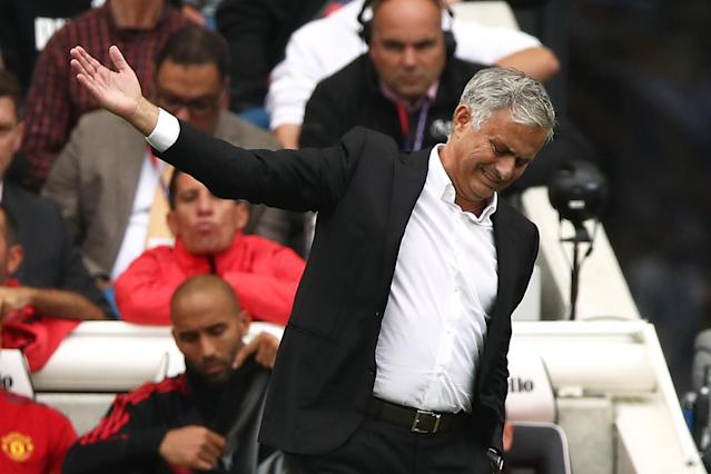 Jose Mourinho has been left frustrated by the lack of defensive signings this summer