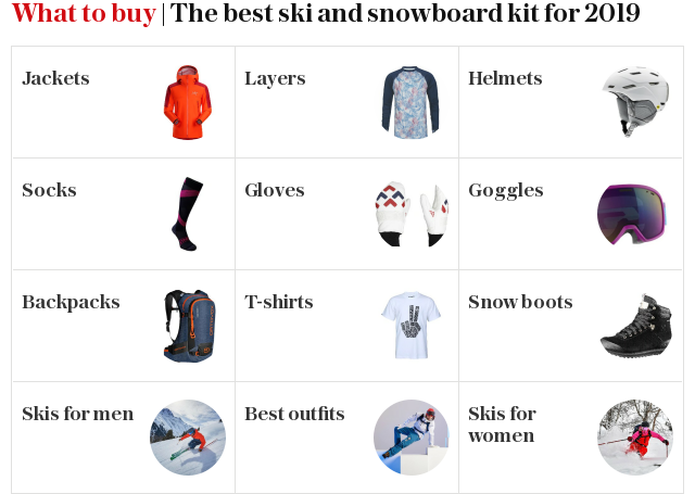 What to buy | The best ski and snowboard kit for 2018