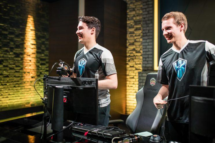 Odoamne and Jankos of H2K-Gaming (lolesports)