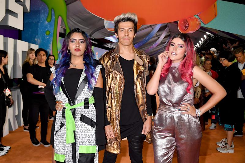 LOS ANGELES, CALIFORNIA - MARCH 23: Los Polinesios attends Nickelodeon's 2019 Kids' Choice Awards at Galen Center on March 23, 2019 in Los Angeles, California. (Photo by Jeff Kravitz/FilmMagic)
