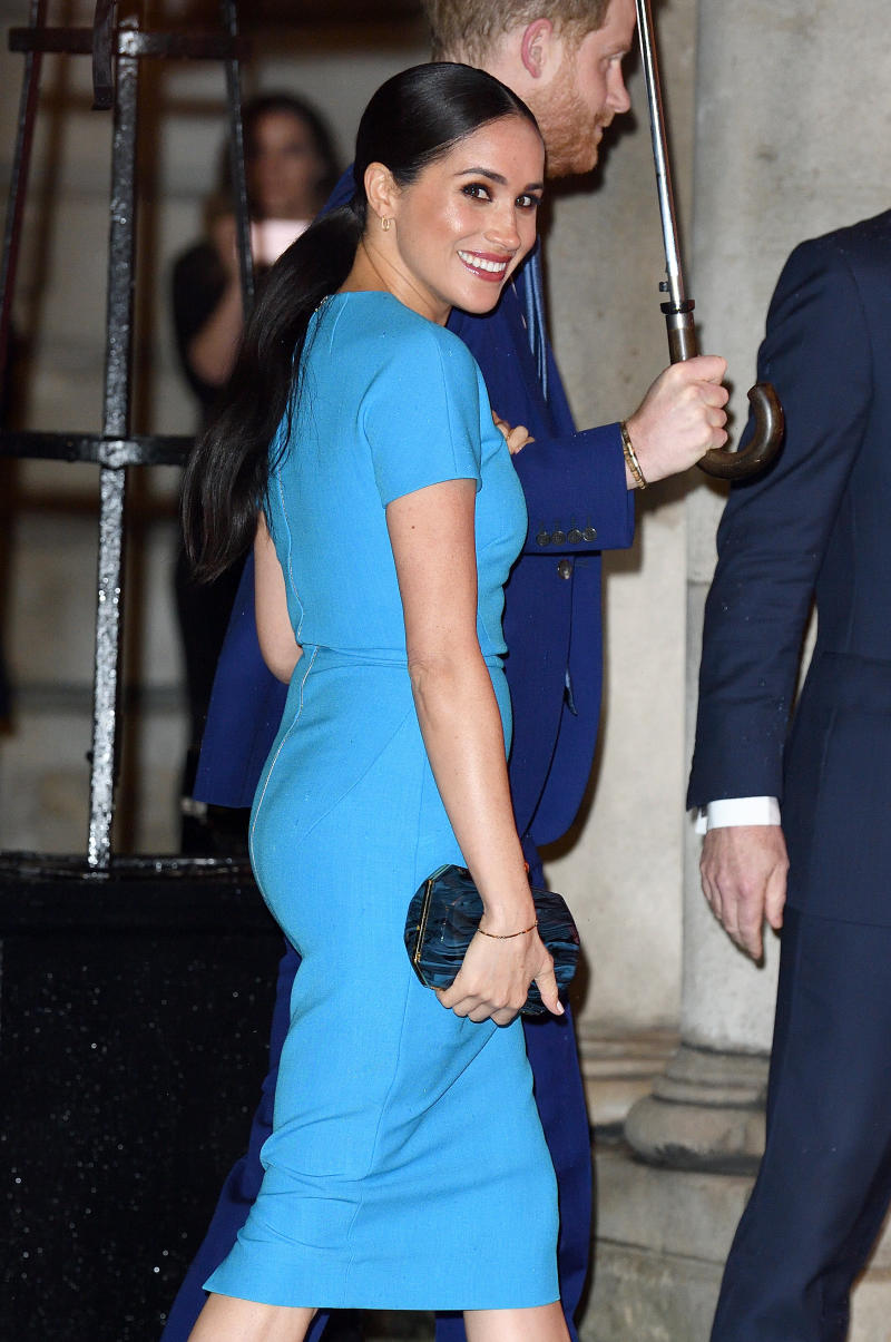 The Duchess of Sussex at the Endeavour Fund Awards in London. (Photo by Karwai Tang/WireImage)