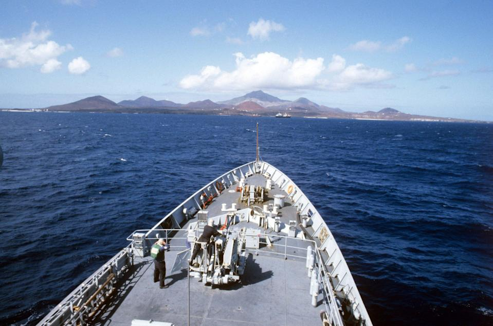 Ascension Island could be considered (PA) (PA Archive)