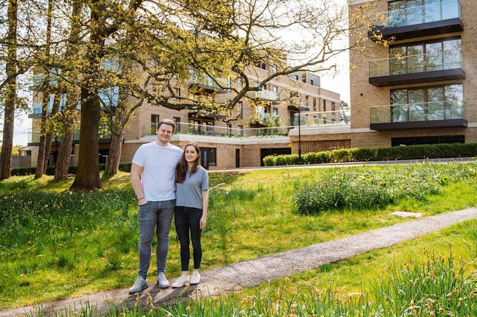 In the know: Alex and Claire have found a happy home in the former surveillance centre at Trent Park (HAYLEY BRAY)