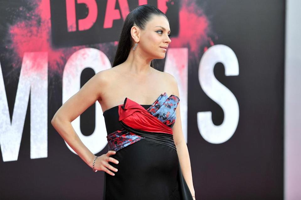 <p>Mila Kunis made back $49.50 for each $1 paid. </p>