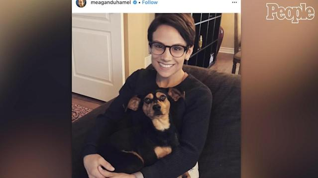 This year, Canadian pair skater Meagan Duhamel is leaving the 2018 Winter Olympics in Pyeongchang, South Korea, with at least one gold medal, as part of the winning Canada skate team. Last year, she came back from the country with a dog