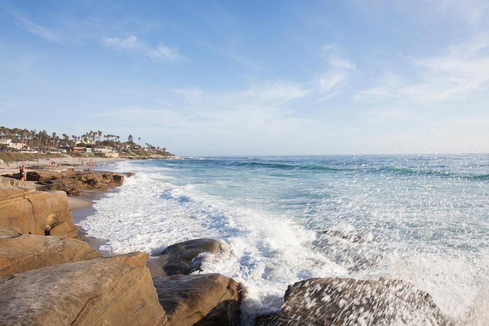 <p><strong>Let's start big picture here.</strong><br> Windansea Beach a well-loved surf spot hidden beside a residential neighborhood. Strong waves, big rocks, and a required climb to access make for an untamed gem of a beach.</p> <p><strong>Any standout features or must-sees?</strong><br> Large rocks on the beach are great for climbing, sunbathing, and picnicking, while others are in contact with wave breaks. After your day at the beach, follow surfers to The Shack Bar & Grill—named after the Windansea surf shack—for fish tacos and a pint.</p> <p><strong>Was it easy to get around?</strong><br> The tiny parking lot at Windansea fills up quickly, so get here early or plan to walk a bit. Beach entry means taking a set of stairs, or walking down the sloping mounds of sand and rock. Swimming here is not advised because of the big wave breaks, and there are no public restrooms or other facilities. Those in the water are skilled surfers only.</p> <p><strong>Anything else to know before we go?</strong><br> Be aware that Windansea is a popular destination for wedding ceremonies and photos, particularly because of its historic palm-covered surf shack that can be used as an arch or canopy.</p>