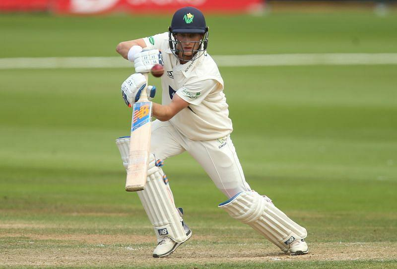Billy Root (pictured) and Kiran Carlson led Glamorgan's fightback on day two at New Road.