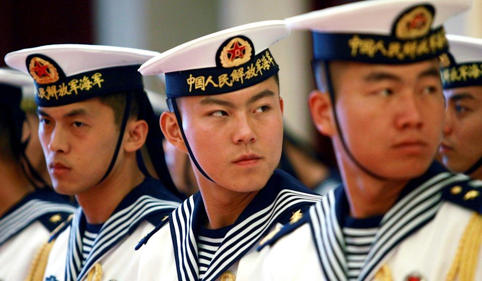 Chinese personnel have been ordered not to escalate a confrontation. Photo: Reuters