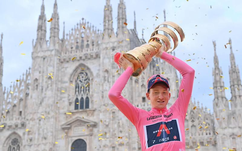 Tao Geoghegan Hart — Tao Geoghegan Hart enters cycling folklore with Giro d'Italia victory
