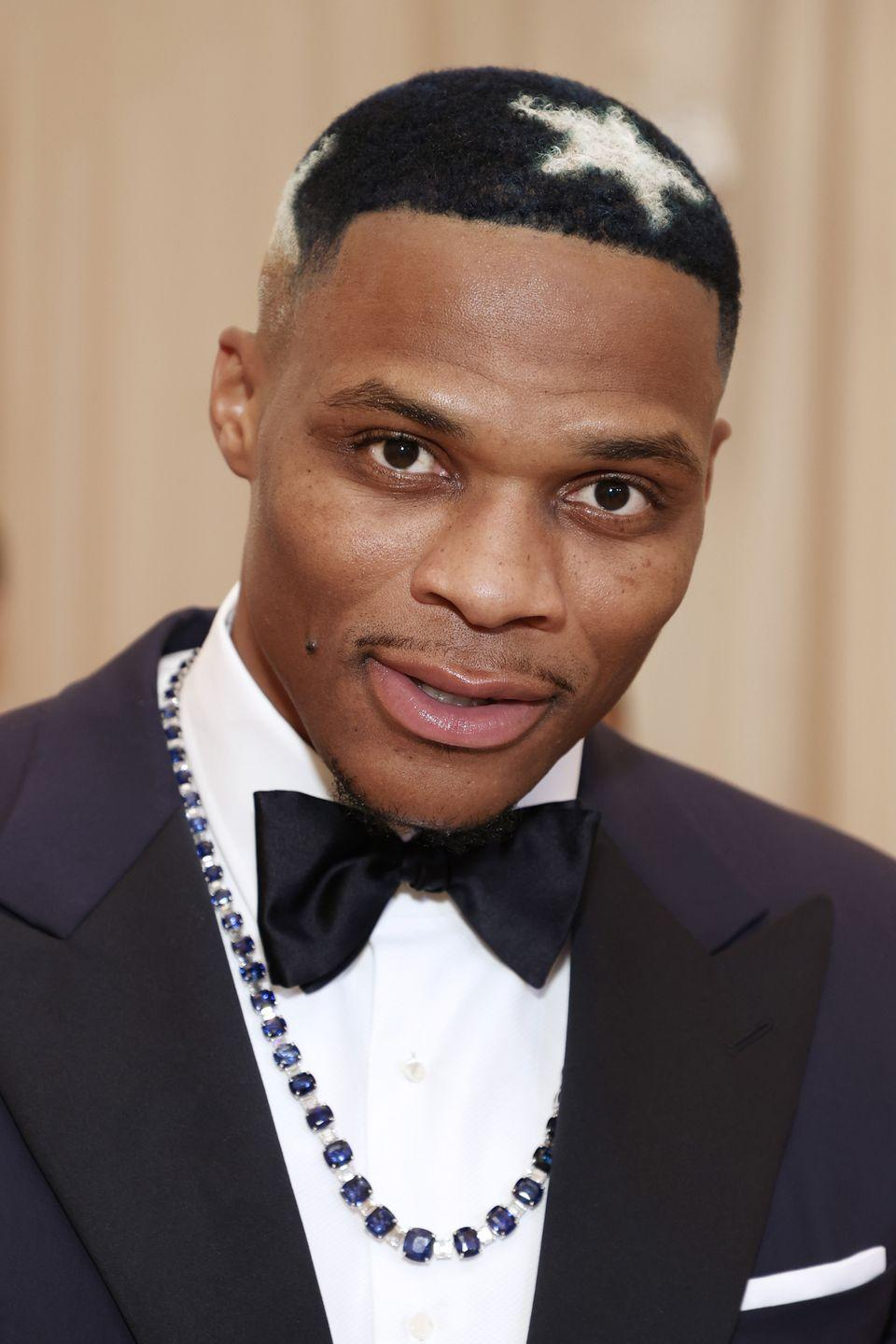 <p>Certified Lover Boy Drake first popularized the heart cut-out, and now we have Russell Westbrook submitting his own take on the classic dark Caesar fade.</p>