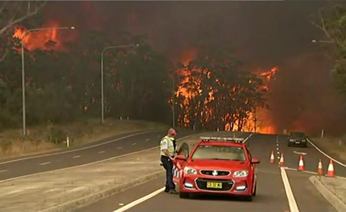 The wildfires have destroyed many properties and caused fatalities.
