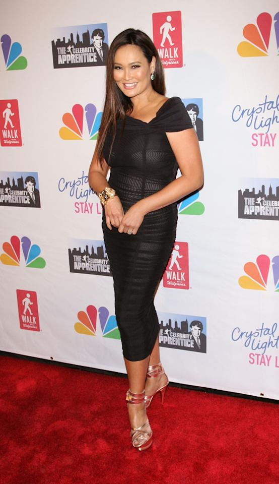 "Tia Carrere attends the ""Celebrity Apprentice"" Live Finale at American Museum of Natural History on May 20, 2012 in New York City."