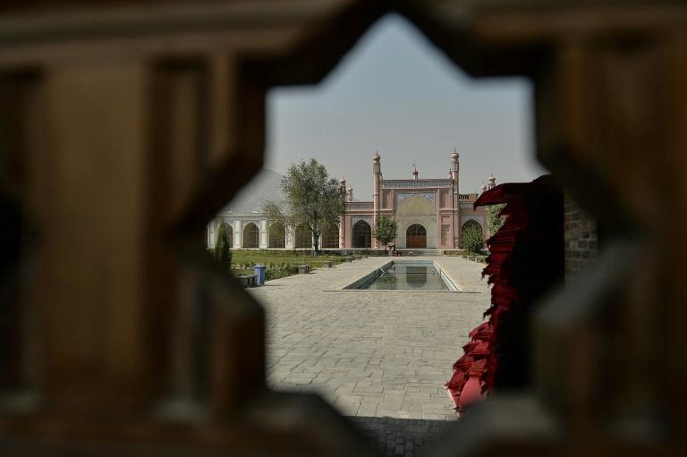 The Taliban said they had destroyed an Islamic State cell in the Afghan capital, hours after a suspected IS attack on a mosque killed five people (AFP/Hoshang Hashimi)