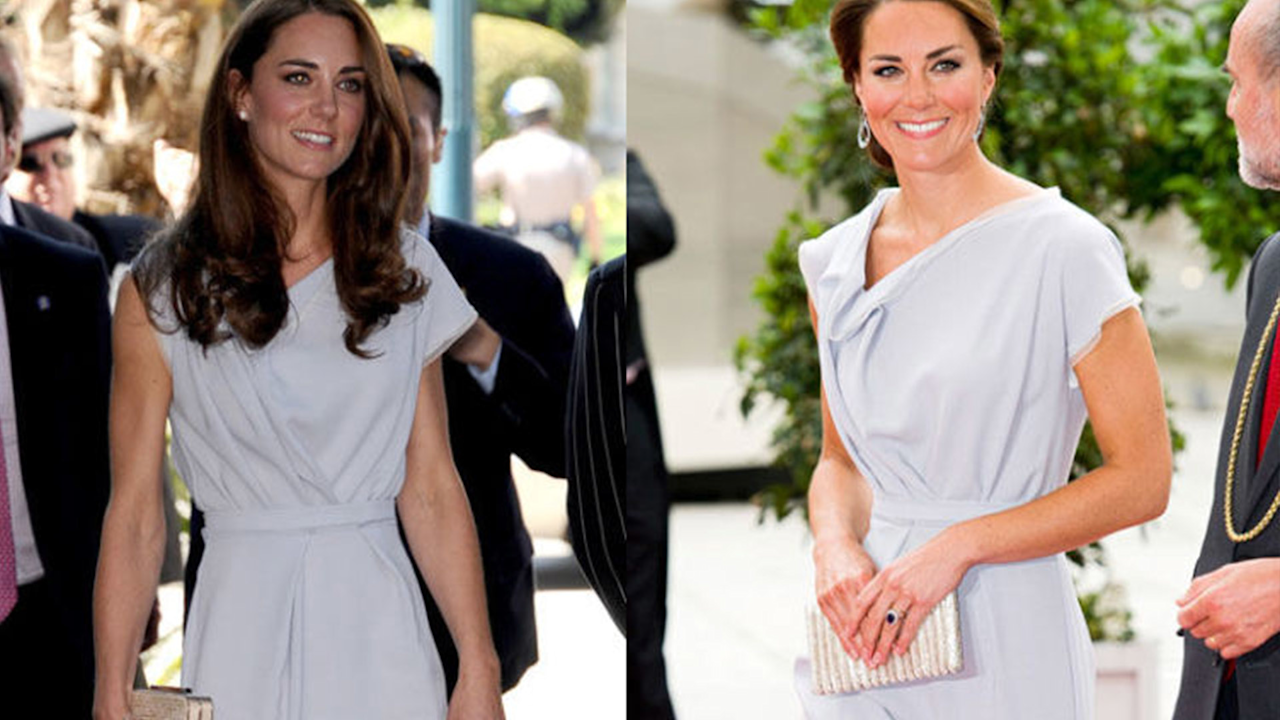 Kate Middleton Seems to Gravitate to One Dress in Particular–Over and Over Again