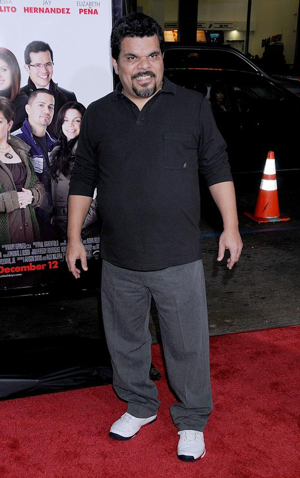 """<a href=""""http://movies.yahoo.com/movie/contributor/1800025757"""">Luis Guzman</a> at the Los Angeles premiere of <a href=""""http://movies.yahoo.com/movie/1809991685/info"""">Nothing Like the Holidays</a> - 12/03/2008"""