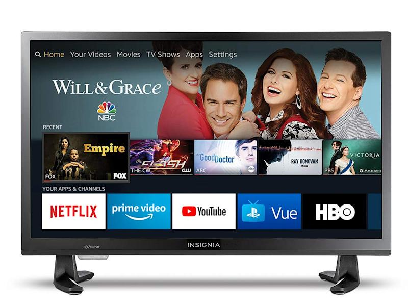 Get more bang for your buck with Insignia HD TV. (Photo: Amazon)
