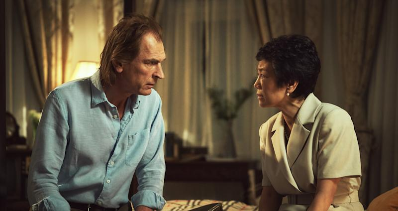 Julian Sands and Sylvia Chang in The Garden Of Evening Mists. (Photo: HBO Asia)