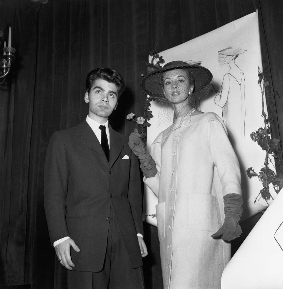 <p>At 21-years-old, Karl Lagerfeld won first prize in the coat category at the Fashion Design Competition in Paris back in 1954 – a success which kick-started his career within the industry. <em>[Photo: Getty]</em> </p>