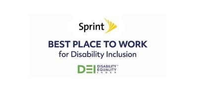 Sprint Receives Top Score on the 2019 Disability Equality Index Awards for Fifth Consecutive Year