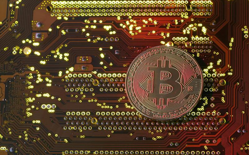Cryptocurrency is used online and as secure digital currency - REUTERS