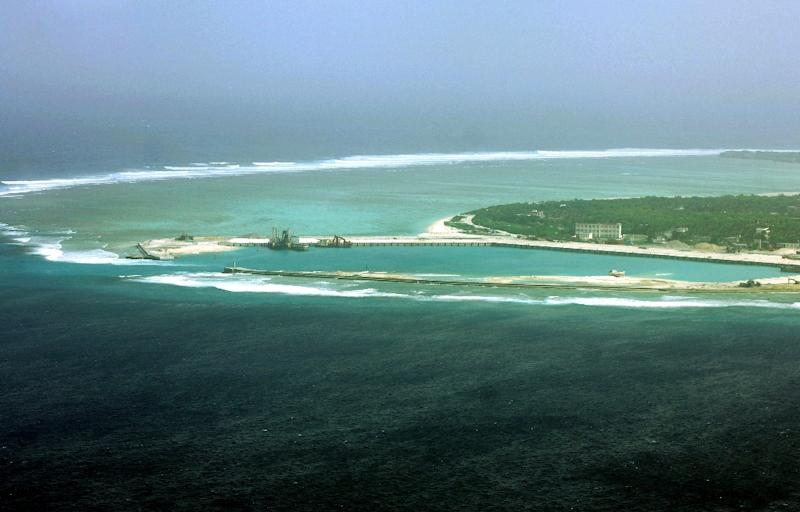 China denies deploying weapon systems to disputed islands in the South China Sea (AFP Photo/)