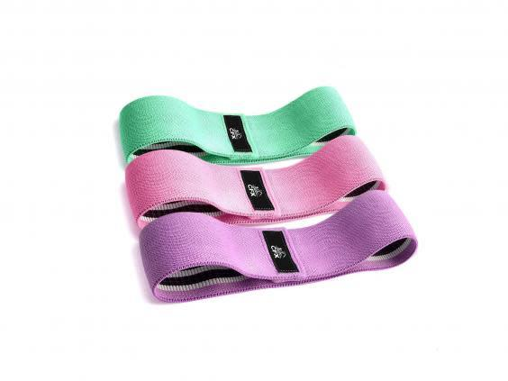 Aid your workout with a set of resistance bands to improve flexibility, balance and muscle strength (Amazon)