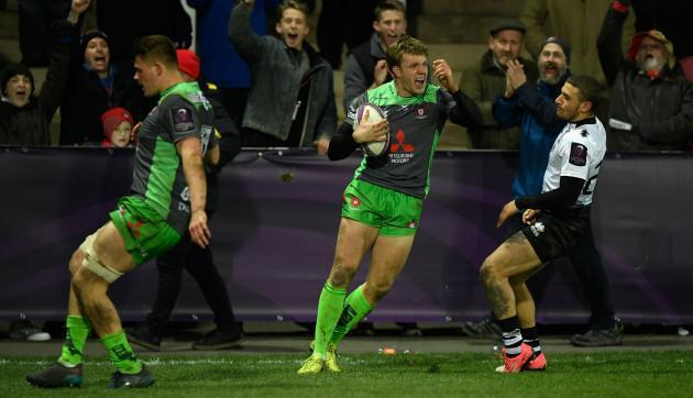 <p>Thorley grabs four in Gloucester rout, Connacht trounce Brice</p>