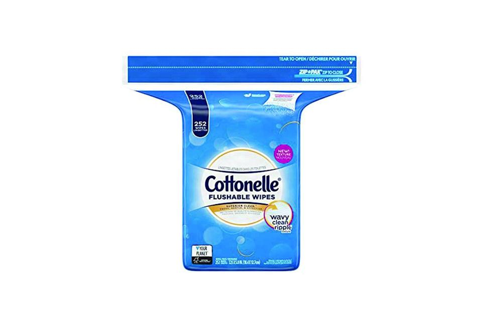 Cottonelle Freshcare Flushable Wipes (Photo: Amazon)