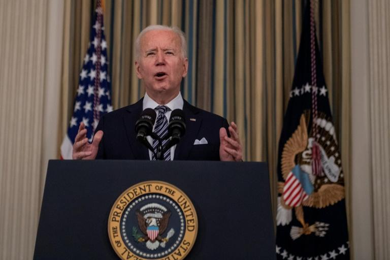 US President Joe Biden signed a $1.9 trillion stimulus bill that the majority of Americans say they would rather use to pay off debts or invest than spend