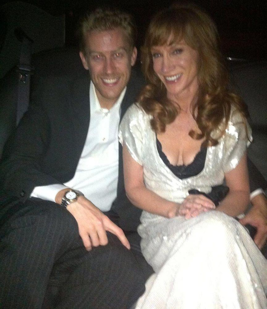 Kathy Griffin and Randy Bick | Kathy Griffin/Twitter
