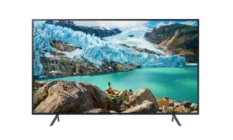 "Samsung 75"" 4K UHD HDR LED Tizen Smart TV. Image via Best Buy."