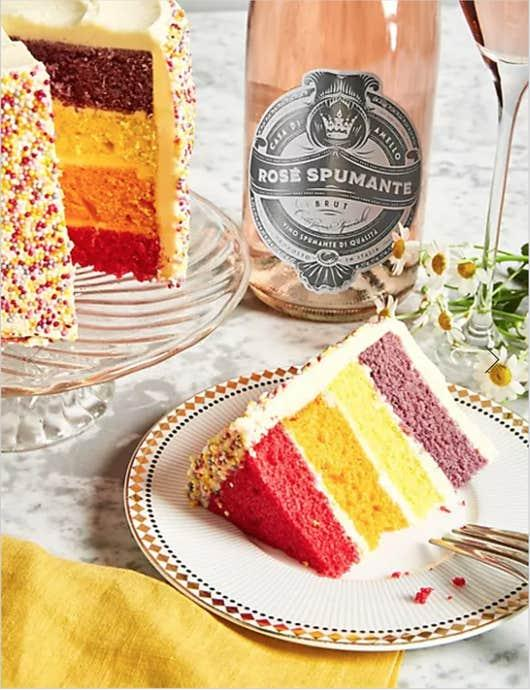 This cake and rosè duo will set you back £30. (Marks & Spencer)