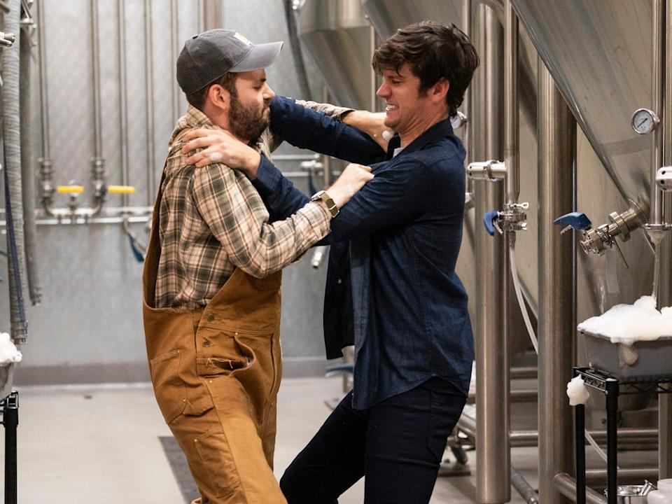 """Alan Aisenberg and Mike Castle costar in """"Brews Brothers."""""""