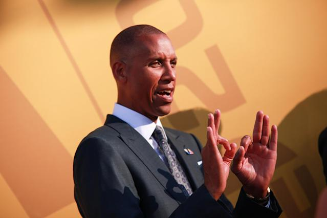 """The painful memories of losing the 1998 Eastern Conference Finals almost kept Reggie Miller from interviewing for """"The Last Dance."""" (Photo by Gonzalo Marroquin/Patrick McMullan via Getty Images)"""