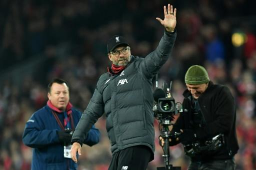 Klopp knows his side will now be under pressure to end their league title drought