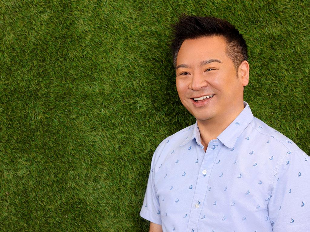"Rex Lee stars as Mr. Wolfe in ""Suburgatory."""