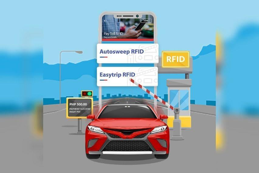 The PSBank Mobile App to help motorists to reload their Easytrip,Autosweep accounts immediately