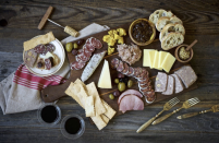 "<p>You can buy individual packages or sign up for the charcuterie of the month membership from Olympia Provisions. The membership customizes boxes inspired by different European cuisines like Italy, Spain, France, Greece, and Germany. </p><p><a class=""link rapid-noclick-resp"" href=""https://www.olympiaprovisions.com/collections/olympia-postal-provisions/products/olympia-postal-provisions-makers-choice"" rel=""nofollow noopener"" target=""_blank"" data-ylk=""slk:BUY NOW"">BUY NOW</a> <strong><em>$36 per delivery, olympiaprovisions.com</em></strong></p>"