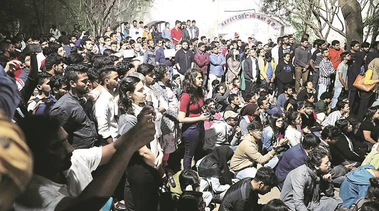 Pune student rally, JNU attack, JNu violence, CAA protest, NRC protest, pune news, maharashtra news, Indian express news