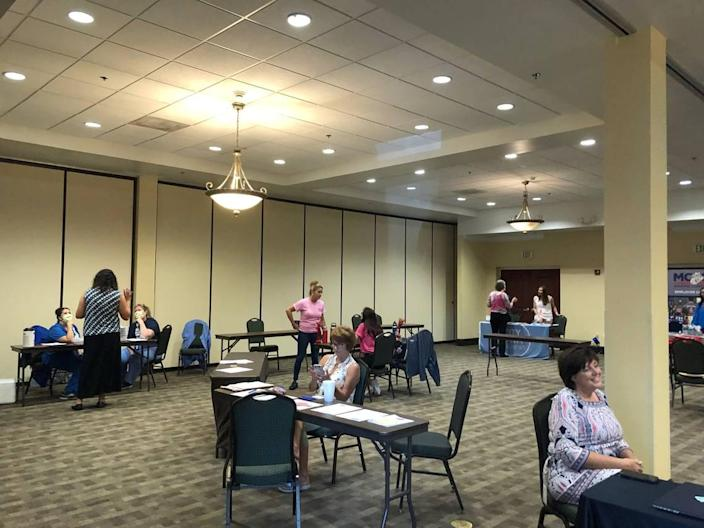The Beaufort Area Hospitality Association held a job fair May 4 to support businesses North of the Broad that are suffering from a lack of staff during the post-pandemic tourism boom.