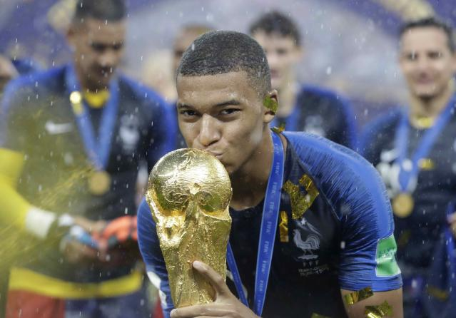 Kylian Mbappé will donate his entire World Cup earnings to charity