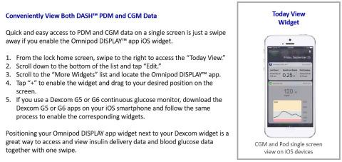 Insulet Omnipod DASH™ System Mobile Apps Now Available for