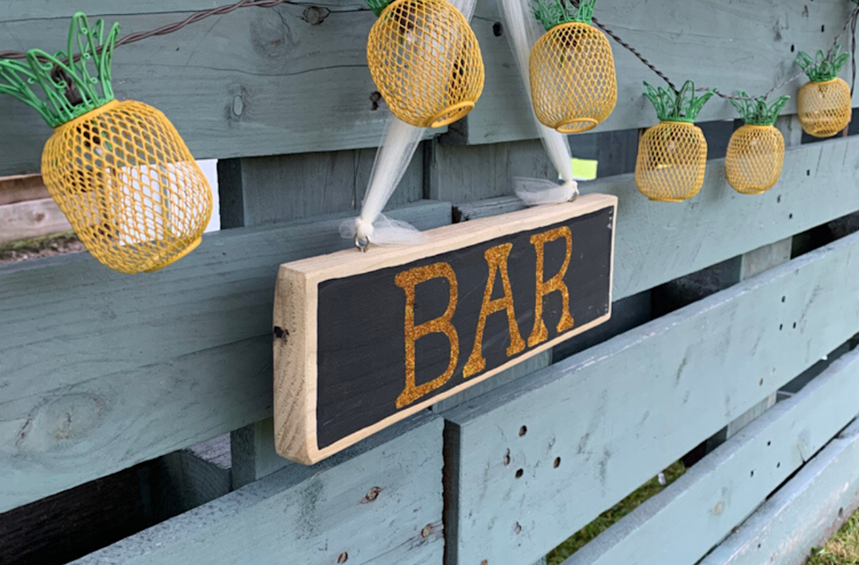 """<p>A smart addition to an outdoor patio or garden would be a place to get refreshments after a long day of yard work. People are looking up how to make their own outdoor pallet bar. Pinterest has seen a 105% increase in searches for that idea. While you're researching, you should also read up on <a href=""""https://www.thedailymeal.com/drink/how-to-curate-bar-cart?referrer=yahoo&category=beauty_food&include_utm=1&utm_medium=referral&utm_source=yahoo&utm_campaign=feed"""" rel=""""nofollow noopener"""" target=""""_blank"""" data-ylk=""""slk:how to curate your own bar cart according to mixologists."""" class=""""link rapid-noclick-resp"""">how to curate your own bar cart according to mixologists.</a></p>"""