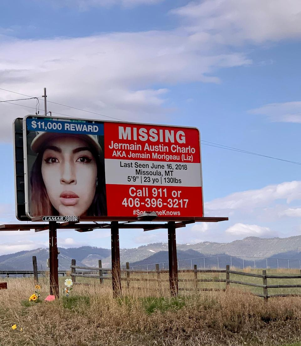 Jermain Charlo, a young Bitterroot Salish woman, has been missing since 2018.