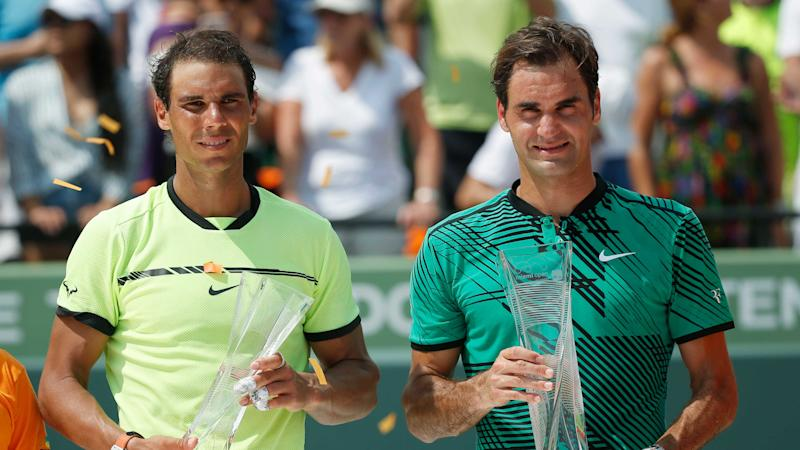 Roger Federer beats Rafa Nadal in Straight Sets to Win Miami Open