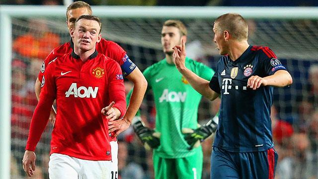 Wayne Rooney accused of diving by Bastian Schweinsteiger