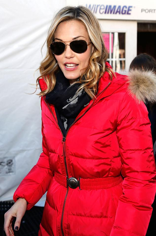 PARK CITY, UT - JANUARY 21:  Actress Leslie Bibb attends Day 4  of Village At The Lift 2013 on January 21, 2013 in Park City, Utah.  (Photo by Imeh Akpanudosen/Getty Images For Village At The Lift)
